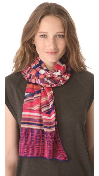 Missoni Geometric Print Scarf