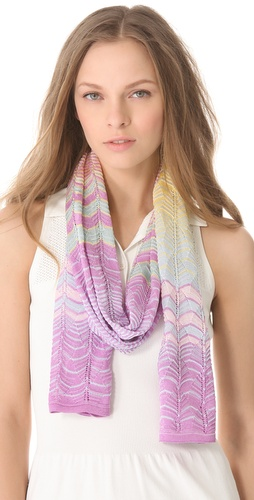 Missoni Scallop Print Scarf at Shopbop.com