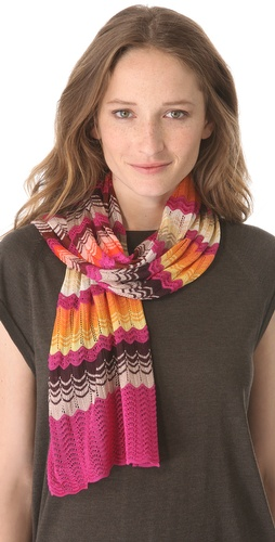 Missoni Wave Print Scarf at Shopbop.com