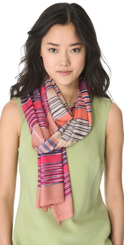 Missoni Mixed Stripe Scarf at Shopbop.com