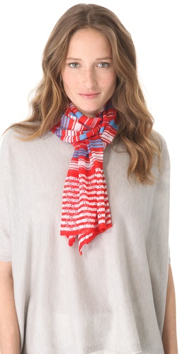 Missoni Thin Striped Scarf at Shopbop.com