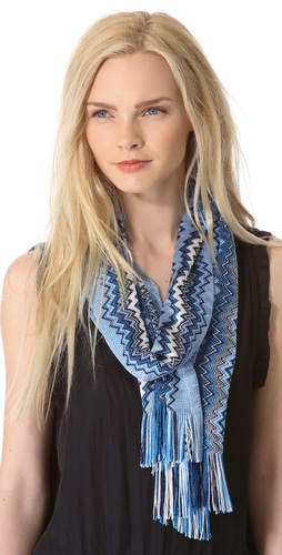 Missoni Mixed Zigzag Scarf at Shopbop / East Dane