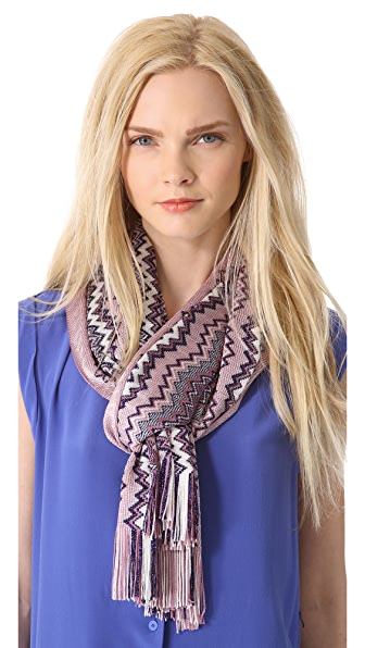 Missoni Mixed Zigzag Scarf
