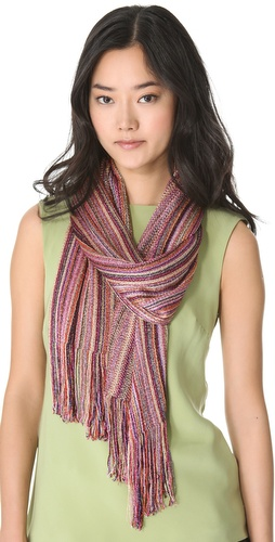 Missoni Vertical Stripe Lurex Scarf at Shopbop.com