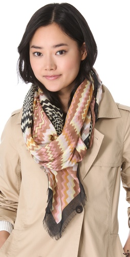 Missoni Aztec Wave Scarf at Shopbop.com