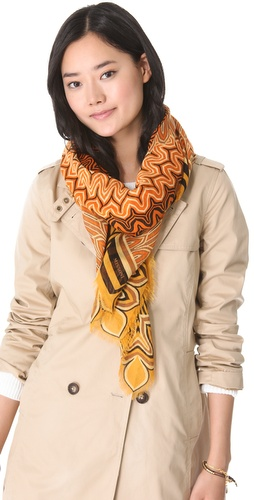 Missoni Large Petal Print Shawl at Shopbop.com