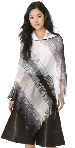 Missoni Zigzag Poncho at Shopbop.com