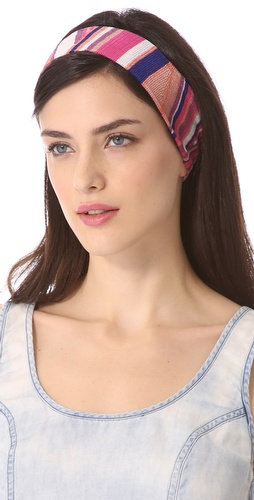 Missoni Geometric Print Headband at Shopbop.com