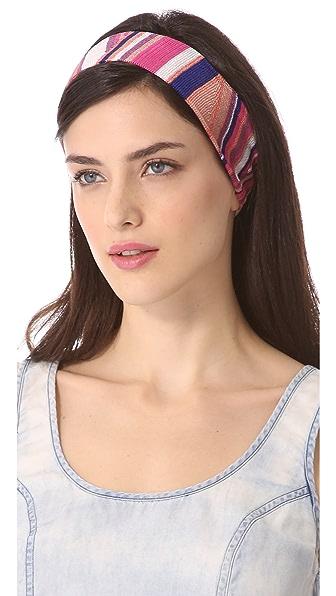 Missoni Geometric Print Headband