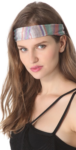 Missoni Geometric Print Lurex Headband at Shopbop.com
