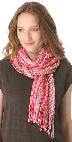 Missoni Knit Zigzag Scarf at Shopbop.com