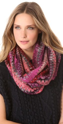 Missoni Zigzag Infinity Scarf at Shopbop / East Dane