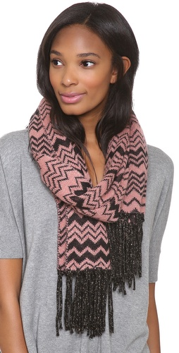 Missoni Zigzag Shimmer Scarf at Shopbop / East Dane