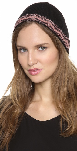 Missoni Zigzag Shimmer Beanie at Shopbop / East Dane