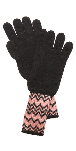 Missoni Zigzag Shimmer Gloves at Shopbop / East Dane