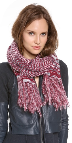 Missoni Knit Zigzag Scarf at Shopbop / East Dane