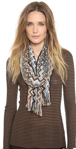 Missoni Big Zigzag Fringe Scarf at Shopbop / East Dane