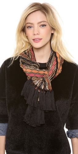 Missoni Strip Fringe Scarf at Shopbop / East Dane