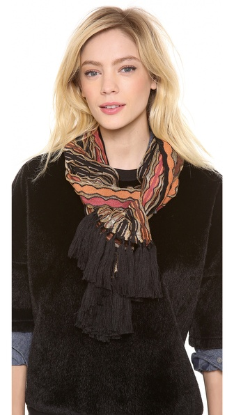 Missoni Strip Fringe Scarf