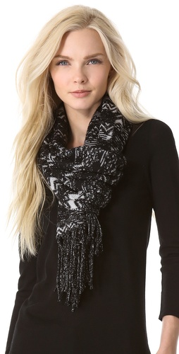 Missoni Striped Zigzag Shimmer Scarf at Shopbop / East Dane
