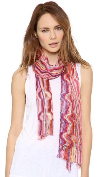 Missoni Woven Shawl - Pink at Shopbop