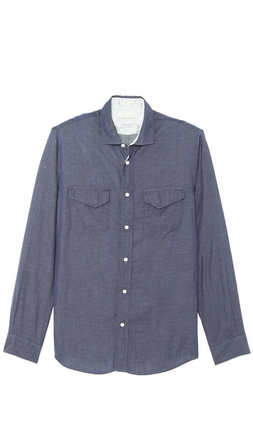 Marc Jacobs Long Sleeve Woven Shirt