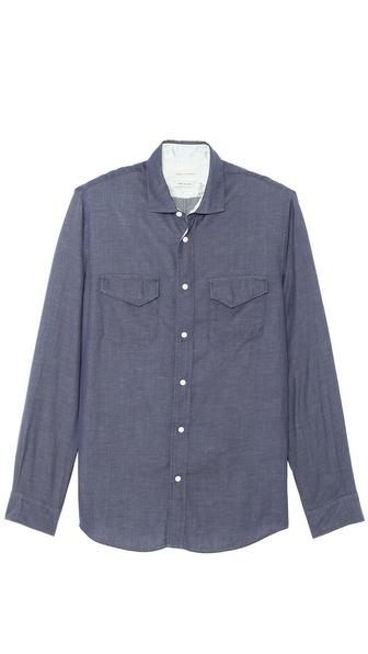 Marc Jacobs Long Sleeve Woven Shirt