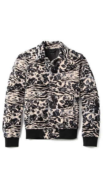 Marc Jacobs Velvet Blouson Jacket