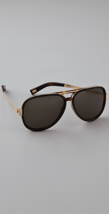 Marc Jacobs Sunglasses Aviator Sunglasses