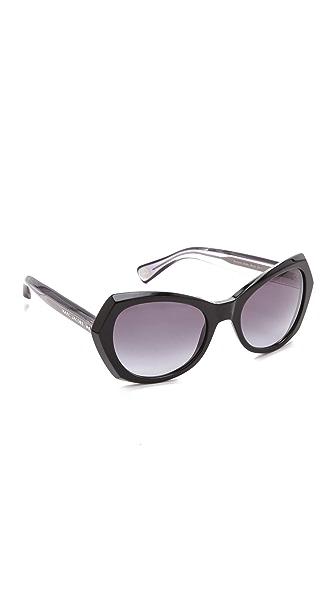 Marc Jacobs Sunglasses Oversized Geometric Sunglasses
