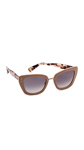 Marc Jacobs Sunglasses Thick Frame Sunglasses