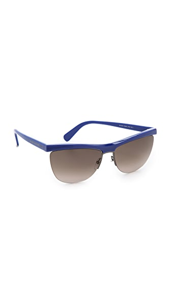 Marc Jacobs Sunglasses Rimless Bottom Sunglasses
