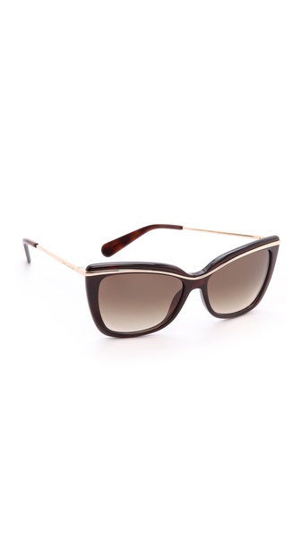 Marc Jacobs Sunglasses Glitter Stripe Sunglasses