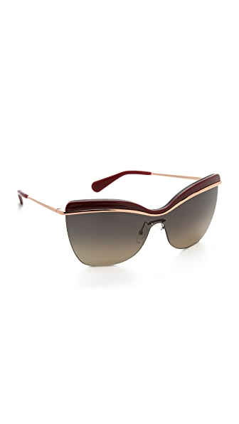 Marc Jacobs Sunglasses Rimless Sunglasses