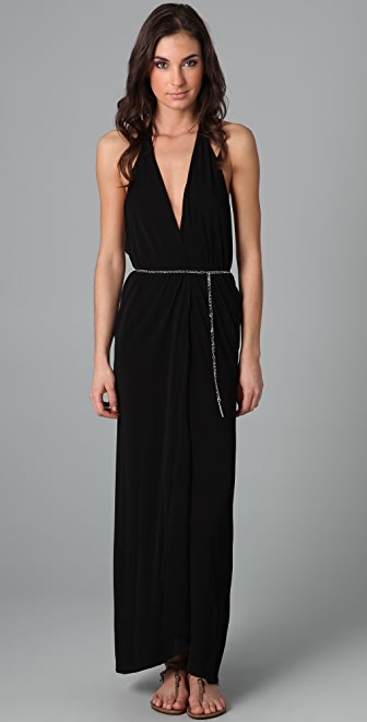 Michael Kors Collection Wraparound Cover Up Dress