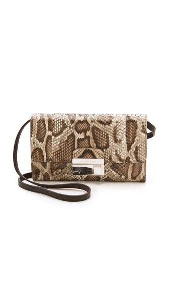 Michael Kors Collection Gia Python Clutch