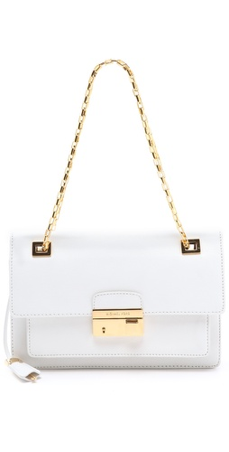 Michael Kors Collection Gia Shoulder Flap at Shopbop.com
