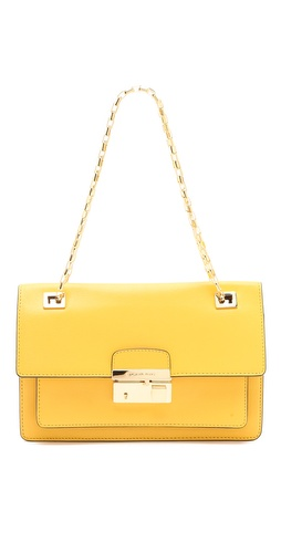 Michael Kors Collection Gia Flap Shoulder Bag at Shopbop.com