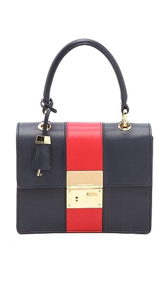 Michael Kors Collection Middleton Stripe Bag