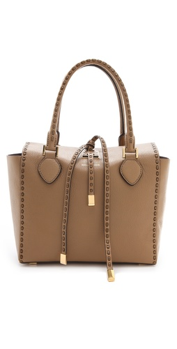Michael Kors Collection Miranda Leather Stitch Tote
