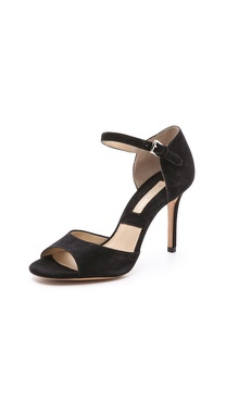 Michael Kors Collection Malia Suede Sandals
