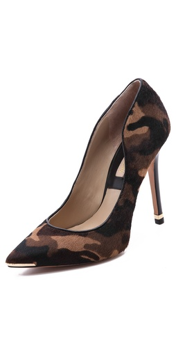 Michael Kors Collection Avra Camo Haircalf Pumps at Shopbop / East Dane
