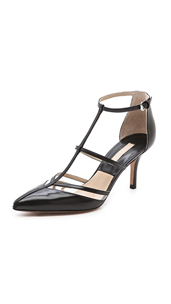 Michael Kors Collection Sahar T Strap Pumps
