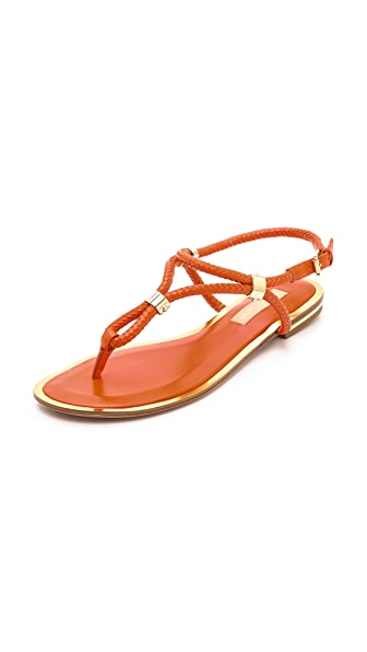 Michael Kors Collection Hartley Scorpius Thong Sandals