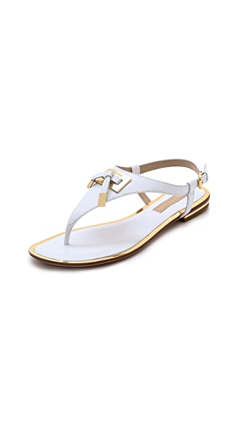 Michael Kors Collection Hara Flat Thong Sandals