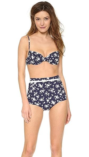 Michael Kors Collection Pansy Print Bikini