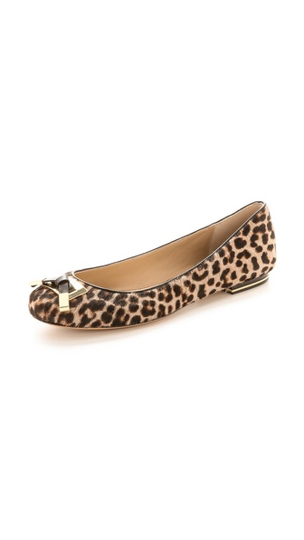 Michael Kors Collection Haircalf Flats
