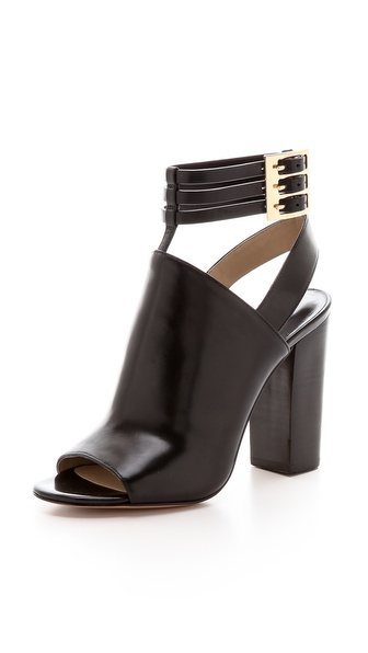 Michael Kors Collection Phaedra Open Toe Booties