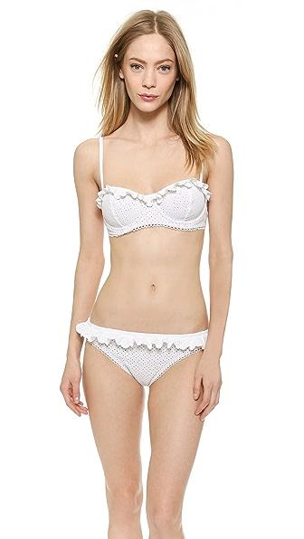 Michael Kors Michael Kors Eyelet Bikini (White)