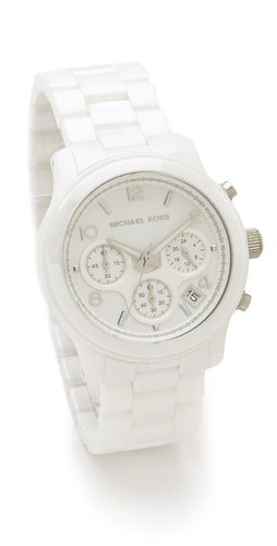 Michael Kors Ceramic Watch at Shopbop.com